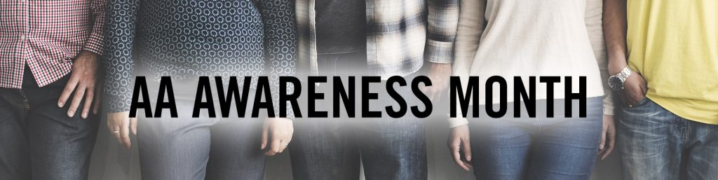 AA Awareness month